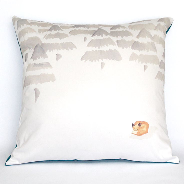Perfect for a new born's bedroom. Winter Fox. Spring/Summer collection 2014.