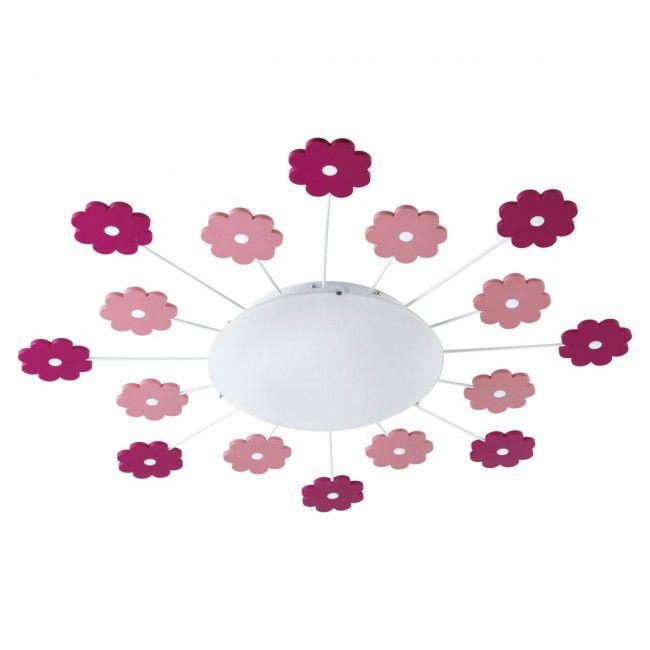 Beautiful EGLO VIKI Wand u Deckenleuchte Kinderzimmer E pink
