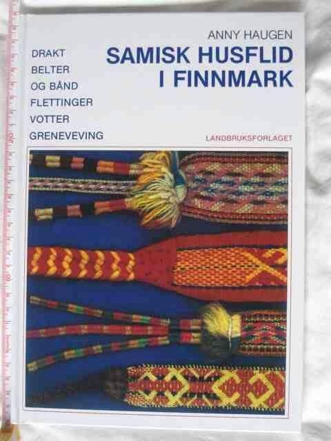 Book on Sámi band weaving