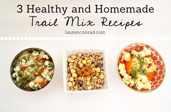 Something new I must try to make! Homemade Trail Mix! | Snack Attack: 3 Healthy Trail Mix Recipes