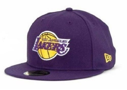 NEW NBA New Era 59Fifty Fitted Hat Los Angeles Lakers Cap Size 7 HWC Basketball  #NewEra #LosAngelesLakers