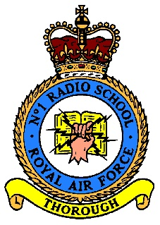 No1 Radio School - Technical Training as L Fitt GC (DC10)