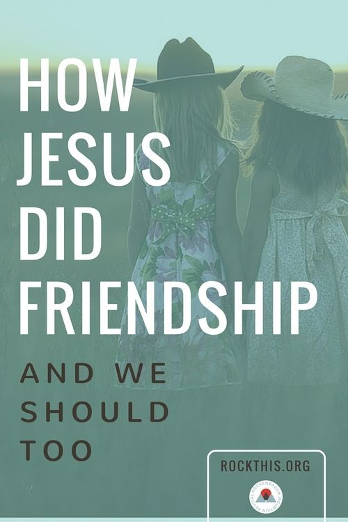 There's nothing better than good friends. But are we doing it right? How do we know? Wonderful read on how Jesus models friendship the right way.