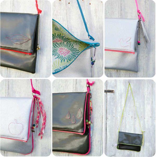 Patron gratuit : le sac happy bag Vous préférez des sacs à main à porter à l'épaule ou à la main?