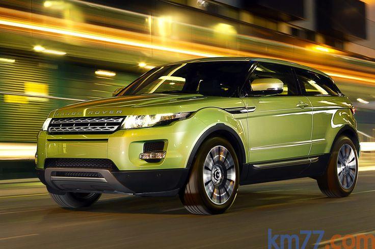 Land Rover Range Rover Evoque Gama Evoque Prestige Todo terreno Colima Lime Exterior Frontal-Lateral 3 puertas