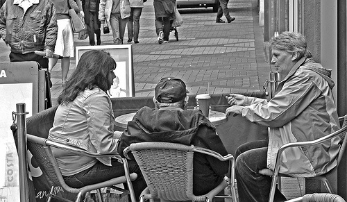 Coffee at Costa, Bracknell Town Centre