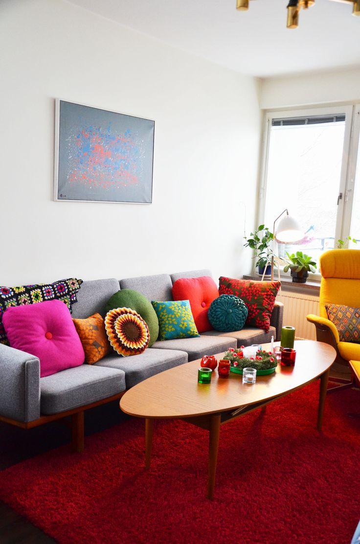vardagsrum grå soffa - Sök på Google