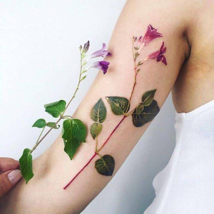Flower Nature Tattoo: 162 Best Images About Tatuajes De Flores On Pinterest