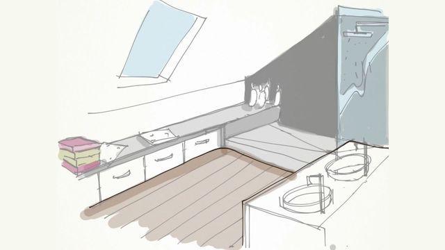 7 best Salle de bain images on Pinterest Bathroom, Lyon and Showers - Plan Electrique Salle De Bain