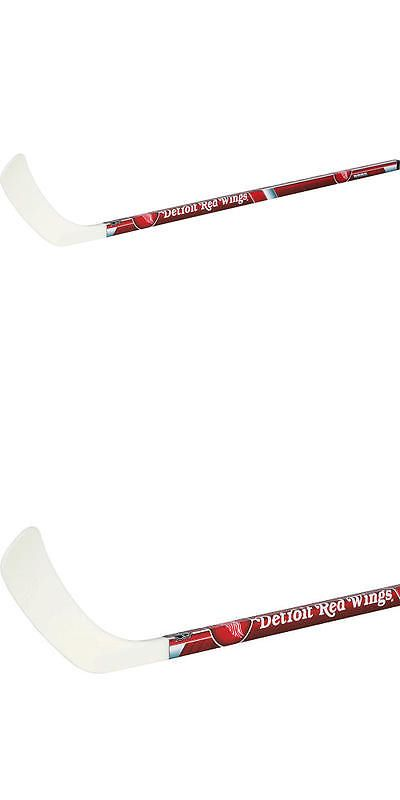 Other Ice and Roller Hockey 2911: Franklin Sports Nhl Detroit Red Wings Left Shot Street Hockey Stick -> BUY IT NOW ONLY: $34.99 on eBay!