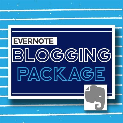 Evernote Blogging Package for Therapists. This product is a collection of Evernote documents. The package contains quick and practical advice that can easily be implemented to help you start creating blog content immediately. https://arttherapyresources.com.au/shop/blog-package-evernote/