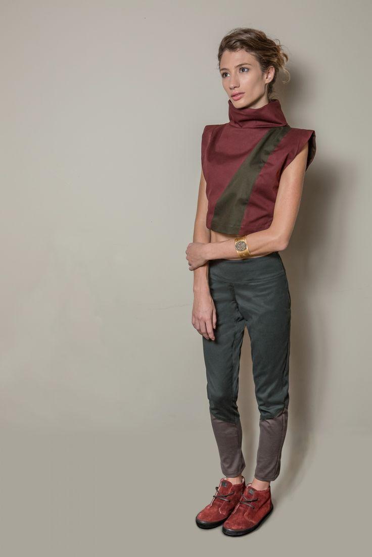 Organic Collection na campanha da coleção de inverno Carbono da marca CycleLand.