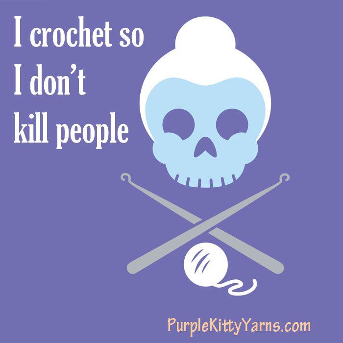:): Crochet Stuff, Yarns, Funny, Kids Crafts, Purple Kitty, Random Stuff, Stress Relievers, True Stories, Kill People