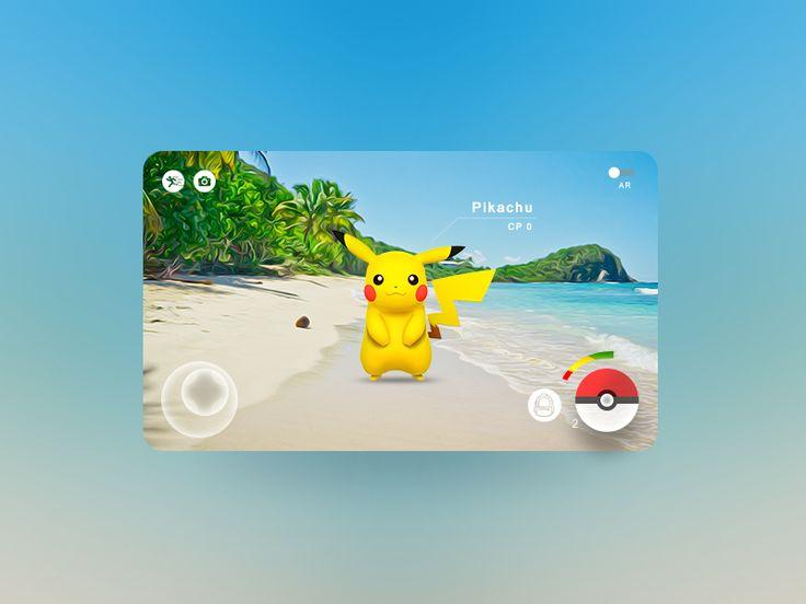 Pokemon GO landscape concept