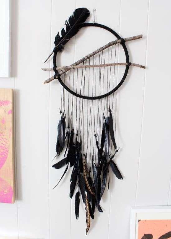 Vous aimez les objets qui inspirent la spiritualité et le bien-être? Le capteur de rêves en est un p... - Photo Pinterest