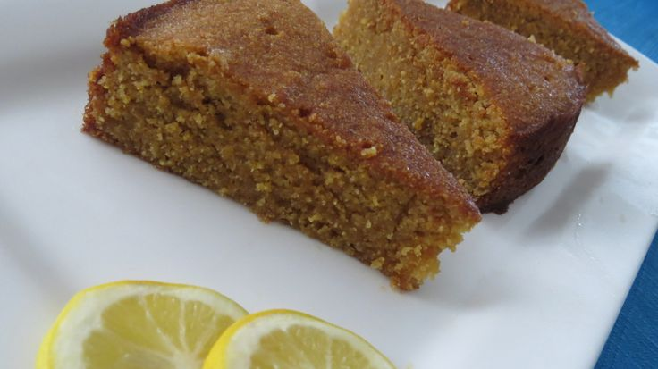 A lovely moist, zesty cake. No nasty sugars or gluten. Great for a sweat treat.