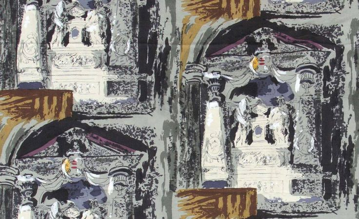 John Piper, Church Monument, Exton, 1954, published by David Whitehead Ltd, Lancashire, private collection|© The Piper Estate / DACS 2015