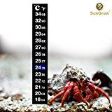 Review for Stick-on Thermometer for Hermit Crabs -- Provide Precise Temperature Measurement... - Sharon Farris  - Blog Booster