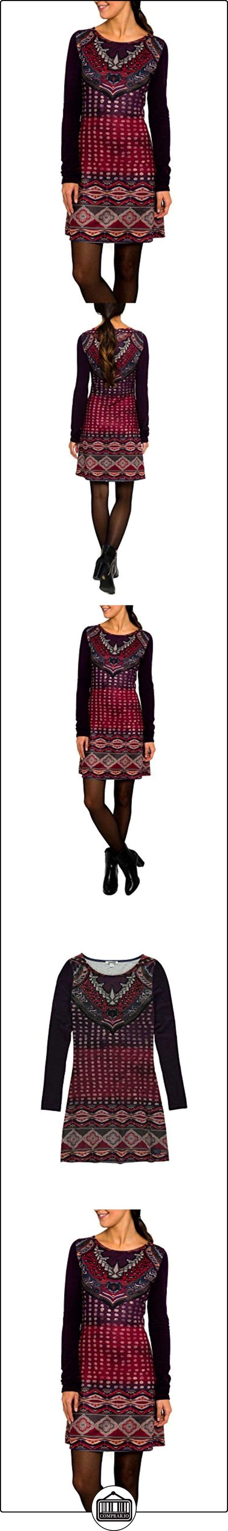 SMASH! Jennifer Cuerpo Estampado-A1682301, Vestido para Mujer, Purpura Oscuro, XL  ✿ Vestidos ✿