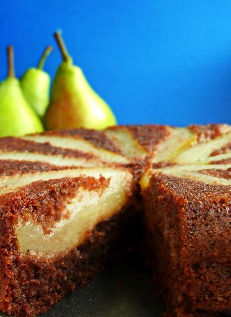 Candy's: Körtés-mogyorós fordított sütemény