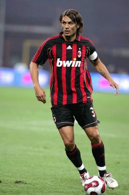 Paolo Maldini, AC Milan, Italy One of the best defenders to play in the world