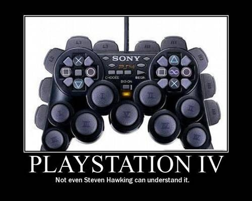 Not even Steven Hawking can understand it....: Picture Playstation, Gamer, Playstation4, Button, Hammer Pants, Corbaley Blog, Playstation 4, Games Characters Playstation