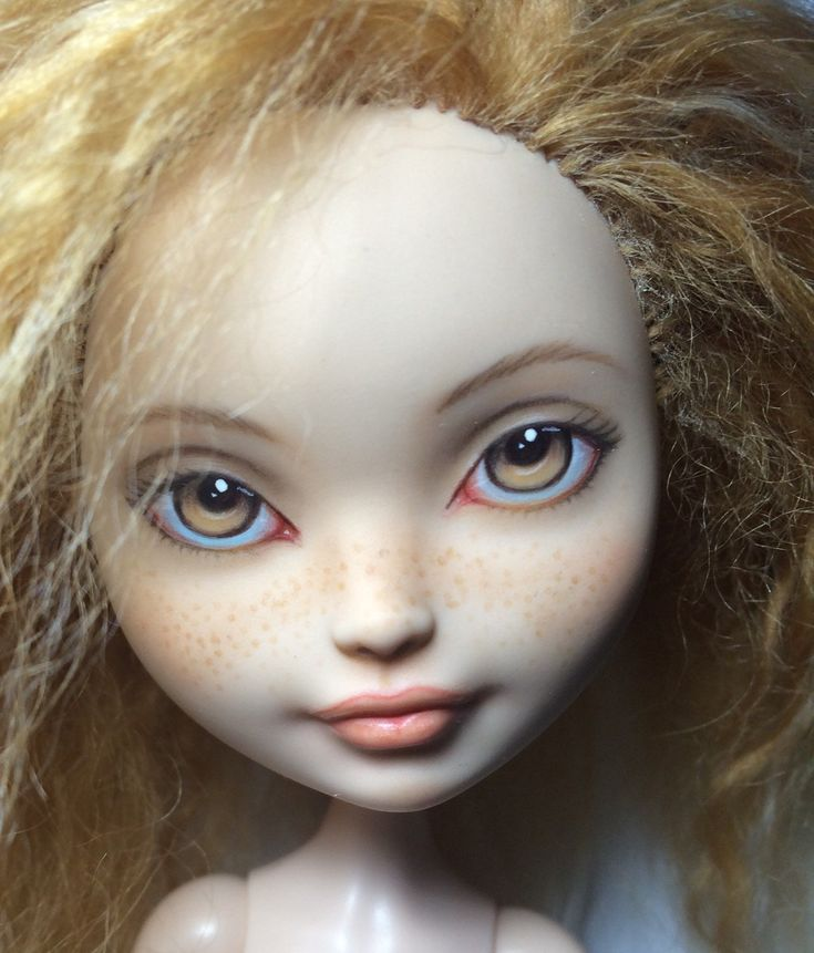 The realistic freckles and eye details are perfect!