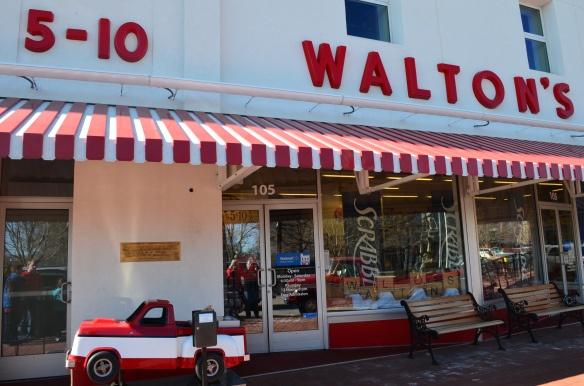 A history of wal mart