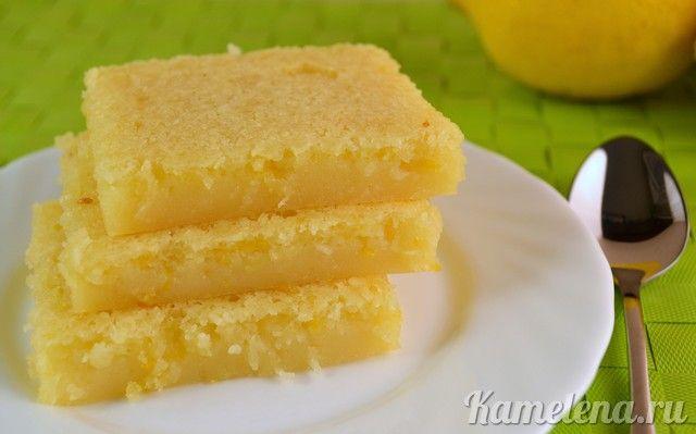 another lemon bar