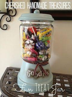 Cherished Handmade Treasures--Treat Jar