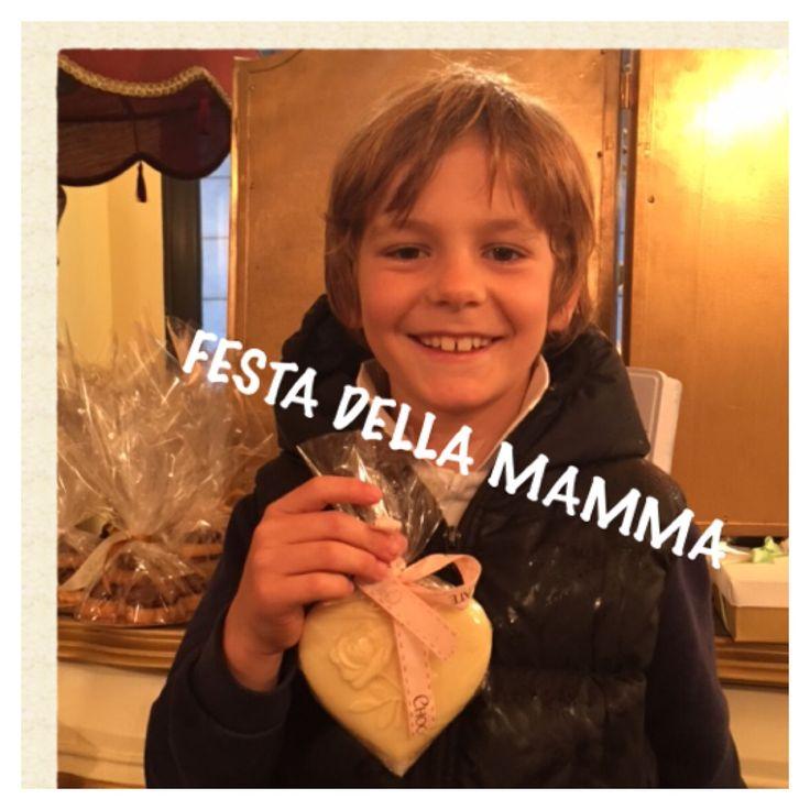 Cuore di cioccolato ,  ❤️❤️❤️tommaso loves his mum ❤️❤️❤️