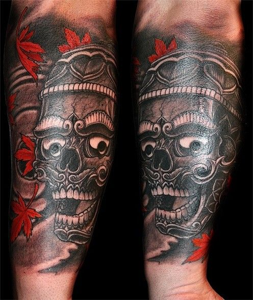 Tibetan Tattoo: Tibetan Skull Tattoo - Google Search