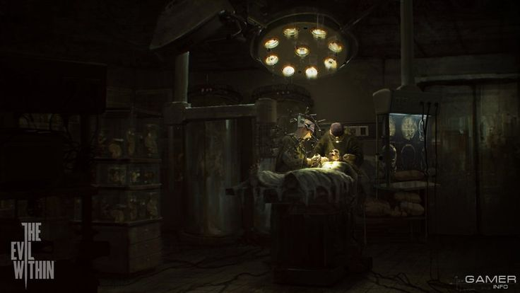 Gameart: The Evil Within
