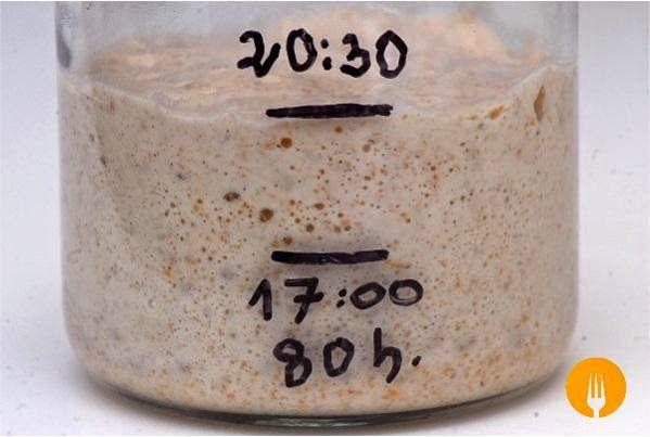Receta para hacer Masa madre para Pan casero La masa madre es una mezcla de harina y agua en la que viven, en perfecta armonía, bacterias y levaduras con l
