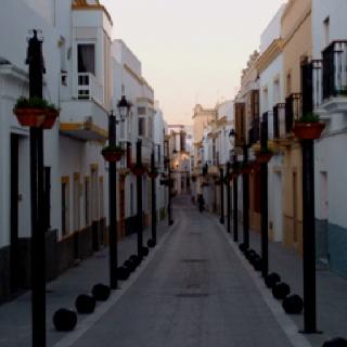 Street in Rota Spain - I loved my time in Rota