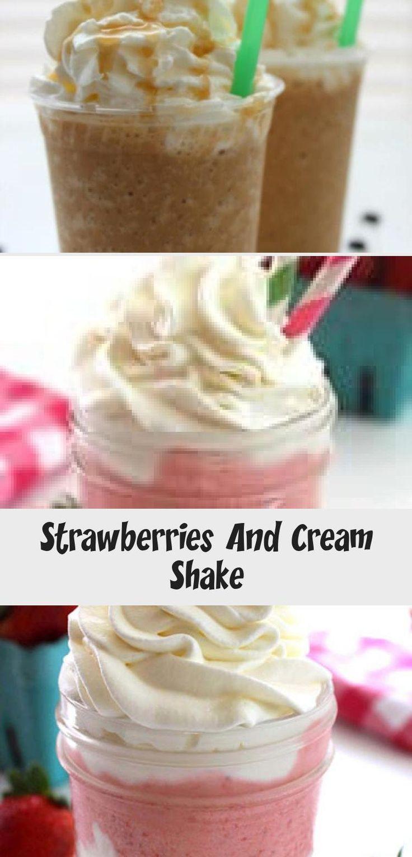 Strawberries And Cream Shake