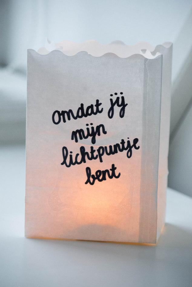 omdat jij mijn lichtpuntje bent #openingszin
