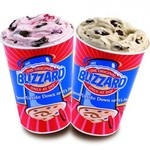 Get Six Buy One, Get One Blizzard Coupons Per Year.    If you sign up for Dairy Queen's email newsletter, you'll get six Buy One, Get One Free Blizzard coupons over the course of a year! The Blizzard is a tasty treat and as far as we're concerned, the only thing better than one Blizzard is two Blizzards for the price of one!    The coupons expire two weeks from send date. To find your nearest Dairy Queen, visit their restaurant locator.