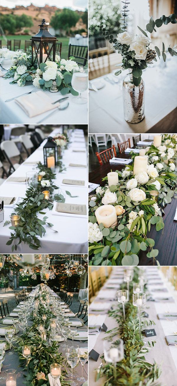 Best wedding greenery ideas on pinterest