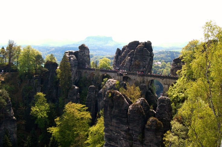 Saxon Switzerland is one of the most amazing spot in Germany. Check one of the most amazing sandstone formation in the world!