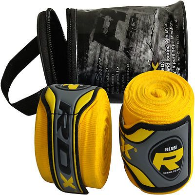 Auth RDX Hand Wraps Bandages Boxing Inner Gloves Muay Thai MMA Mexican Stretch U   eBay