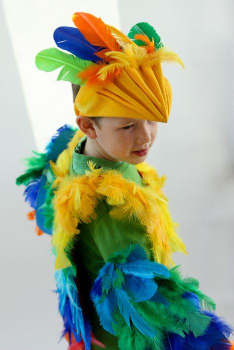 Gigi's Joy: bird costume