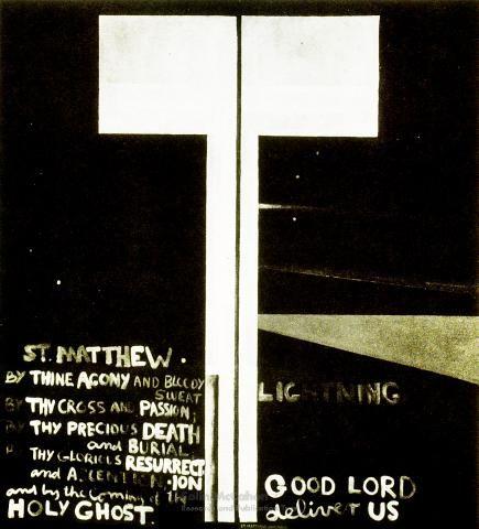 St. Matthew: lightening, 1977 - Colin McCahon