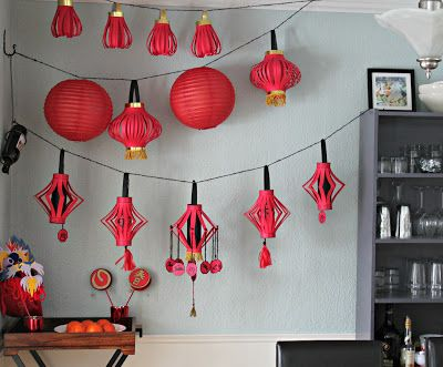 Marie's Pastiche: Chinese New Year Lanterns (with printable)