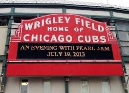 Pearl Jam Wrigley Field