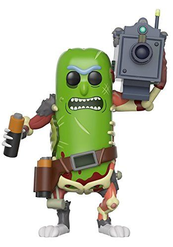 Funko Pop Animation Morty-Pickle Rick with Laser Collecti...