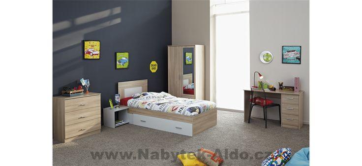 Dětský pokoj Easy 3085 v sestavě