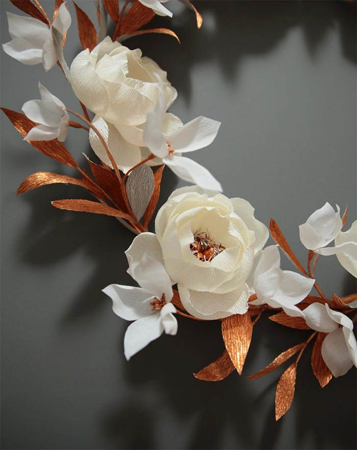 12 Paper Flower Artists to Follow on Instagram | Design*Sponge (_papetal_)