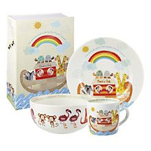 Buy Little Rhymes Noah's Ark Dinner Set Online at johnlewis.com