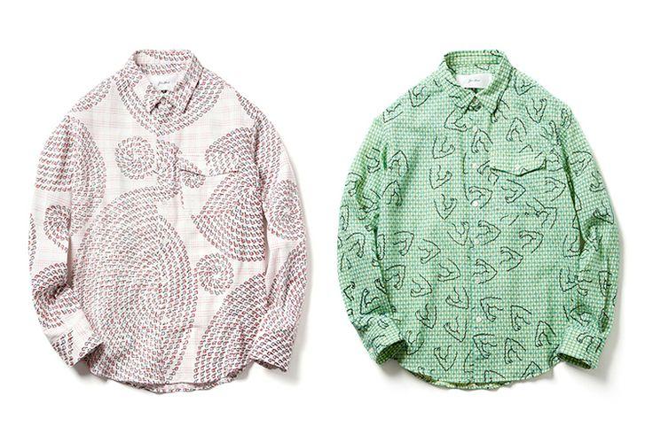 Julien David 2012 Fall/Winter Print Shirts.